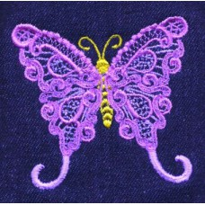 Design: Animals>Insects>Butterflies - Lacy butterfly