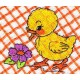 Design: Animals>Farm Animals>Chickens - Chicken and flower