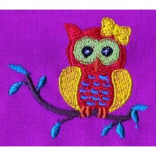 Design: Animals>Birds - Owlet with a small bow