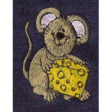 Design: Animals>Wild Animals>Mice - Mouse with cheese