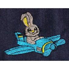 Design: Animals>Wild Animals>Rabbits - Rabbit in toy plane