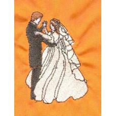 Design: Events>Weddings - Bride and groom dancing