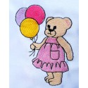 Design: Items>Toys>Teddy Bears - Bear with balloons