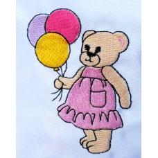 Design: Items>Toys>Teddy Bears - Bear with balloons