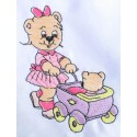 Design: Items>Toys>Teddy Bears - Bear with toy stroller