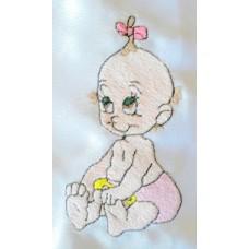 Design: People>Babies - Baby girl