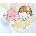 Design: People>Babies - Baby girl sleeping