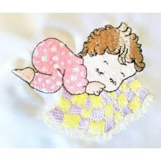 Design: People>Babies - Baby girl sleeping
