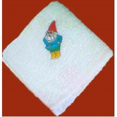 Product: Babies>Baby Cloths - Burp Cloth (Little dwarf standing)
