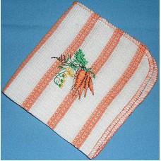 Product: Kitchen>Linen - Washcloth (Carrots)