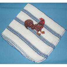 Product: Kitchen>Linen - Washcloth (Brown cock)