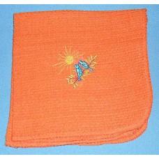 Product: Kitchen>Linen - Washcloth (Birds singing at sunrise)