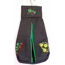 Product: Kitchen>Bags - Dishcloth Holder (Three fruits)